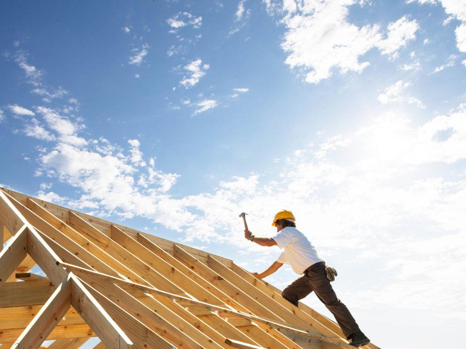 Wir bauen mit Holz